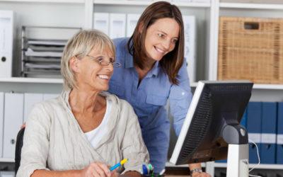 Pflegelotsen als Ansprechpartner im Unternehmen